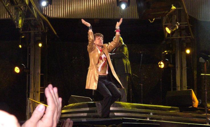 Mick on the Mic