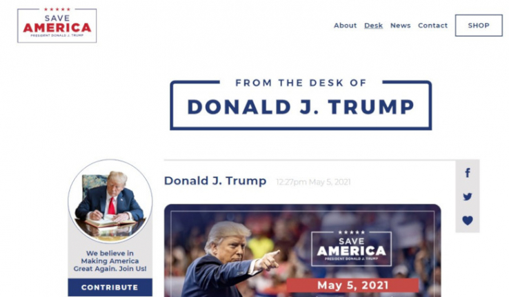 Donald Trump: Sperre erregt Widerstand