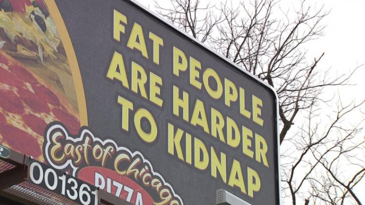 Verunfallter Slogan