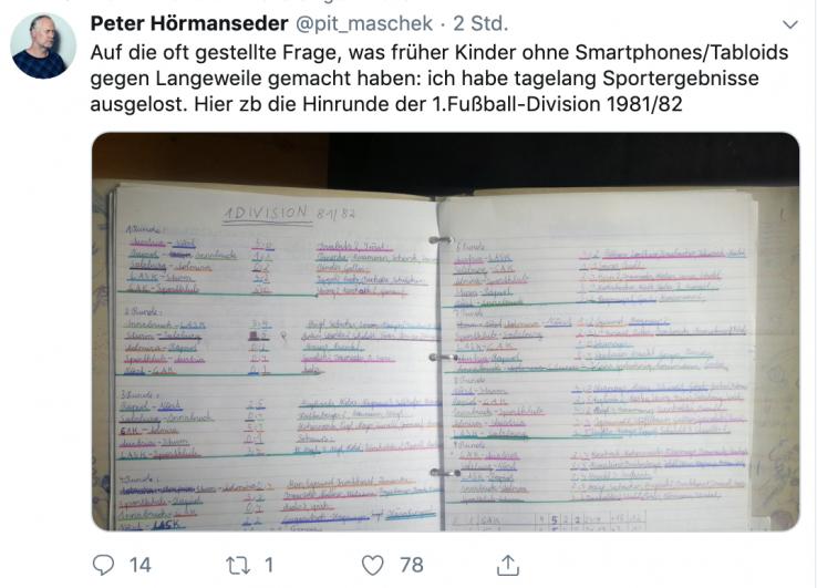 Fussball Ergebnisse Anno 81 82