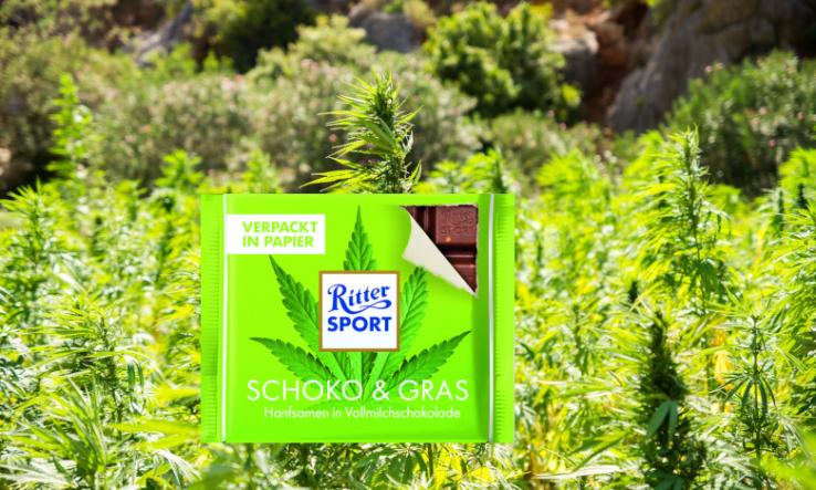 Gras-Schokolade
