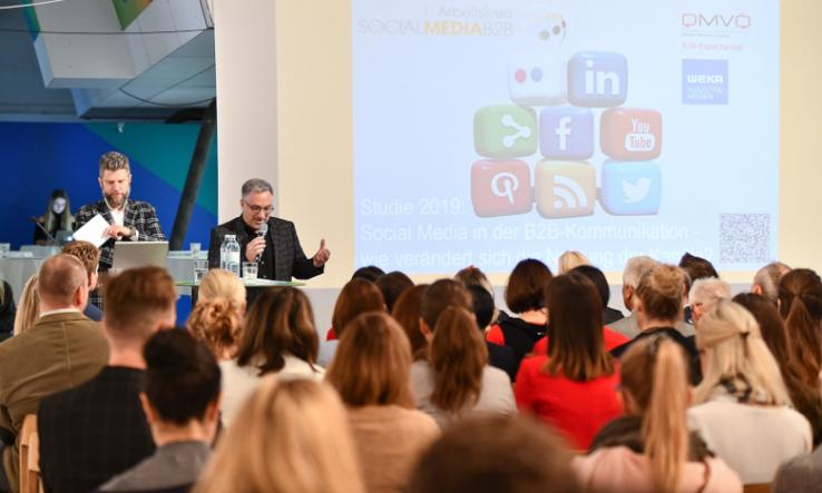 B2B Marketer lieben Facebook und LinkdIn